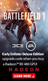 AMD RADEON. Battlefield 1.