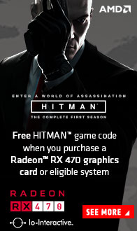 AMD RADEON. Hitman