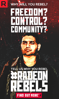 AMD RX500. Freedom? Control? Community? RadeonRebels