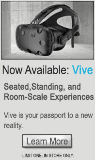 HTC Vive NOW AVAILABLE!