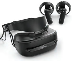 Lenovo Mixed Reality Headset and Remotes