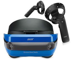 Acer Mixed Reality Bundle - Headset and Remotes