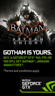 NVIDIA. Batman - Arkham Knight