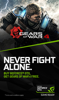 NVIDIA. NEVER FIGHT ALONE.
