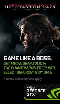 NVIDIA. Metal Gear Solid 5 - The Phantom Pain