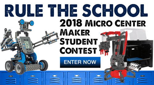 Exclusive student coupons micro center micro center maker student contest fandeluxe Gallery