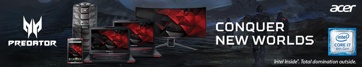 Conquer New Worlds - Acer Predator