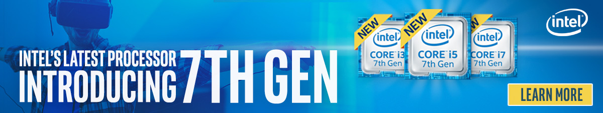 Intel's Latest Processor Introducing 7th Gen - Learn More about Intel's 7th Gen