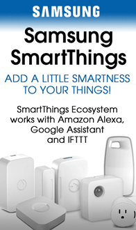 Samsung SmartThings - Add a little smartness to your things.