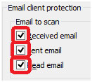 email type choices