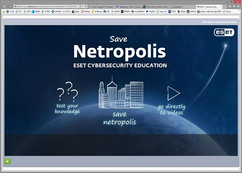ESET Cybersecurity Education