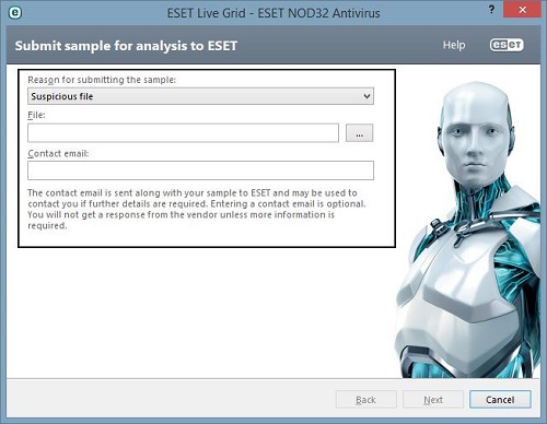 ESET Sample Submission Form