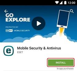 Install ESET Mobile