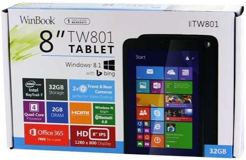 WinBook Tablet Box