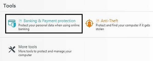ESET Tools, Banking and Payment Protection