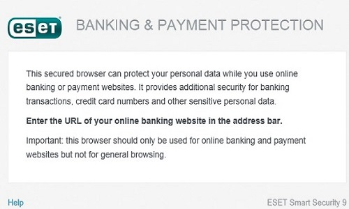 ESET Banking and Payment Protection