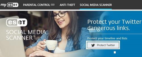 ESET Banner, Protect Twitter
