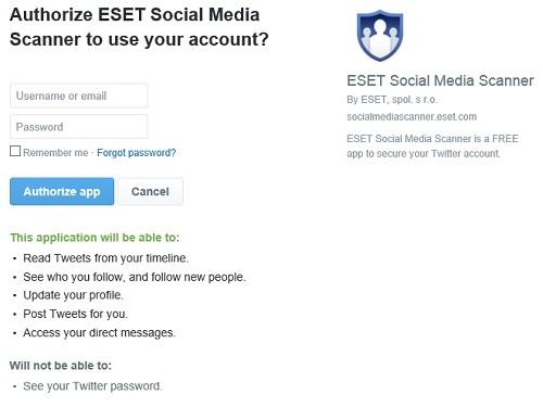 ESET Authorization