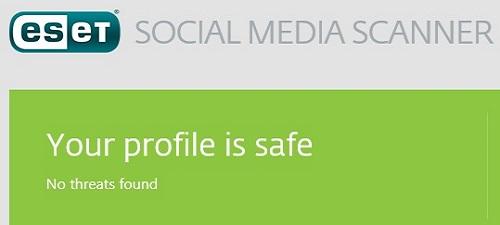 ESET Social Media Scanner, Profile Safe