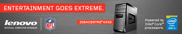 Entertainment Goes Extreme! IdeaCentre K450