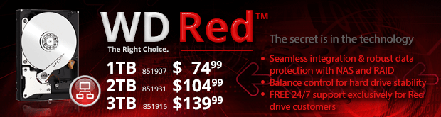 WD Red - The Right Choice!