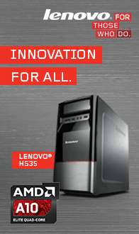 Innovation For All! IdeaCentre H535
