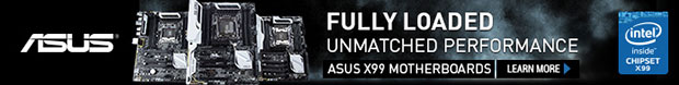 FULLY LOADED! Unmatched Performance! ASUS X99 Motherboards
