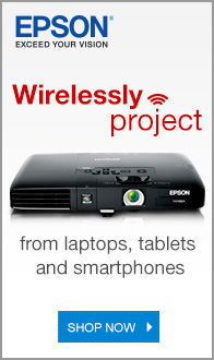 EPSON. Wirelessly Project.