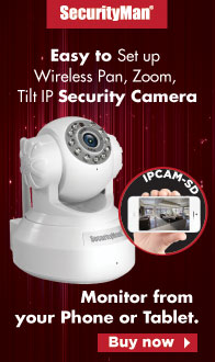 Easy to Setup, Wireless Pan/Zoom/Tilt. The IP Security Camera