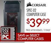 Corsair Spec-02 Computer Case - $39.99