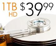 1TB Internal Hard Drive - $39.99