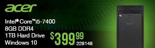 Acer desktop $399.99
