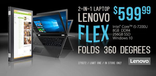 Lenovo Flex 4 $599.99
