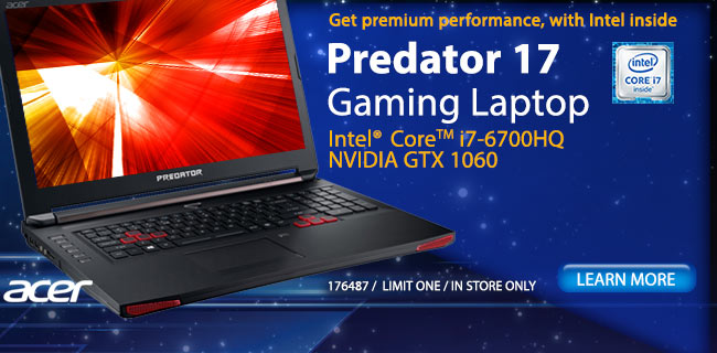 Acer Predator 17 Gaming Laptop