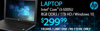 HP Laptop - $299.99
