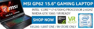 MSI GP62 Gaming Laptop