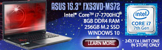 ASUS 15.3 inch Laptop - Learn More