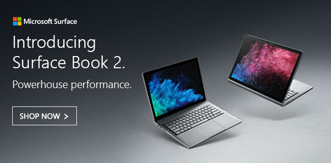 Microsoft Surface Book 2 - Shop Now