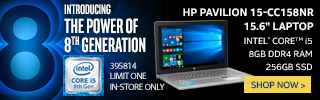Introducing the Power of 8th Generation. HP Pavilion 15-CC158NR 15.6 Inch Laptop - Shop Now