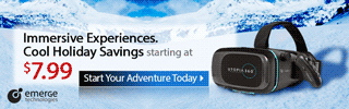 Immersive Experiences. Cool Holiday Savings starting at $7.99