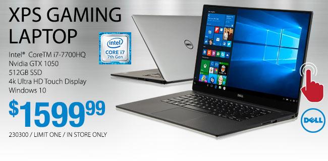 Dell XPS 15 Laptop - $1599.99