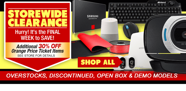 STOREWIDE CLEARANCE - Shop Now