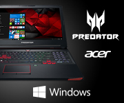 Acer Predator Notebook with Windows
