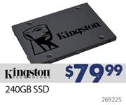 Kingston 240GB SSD - $79.99