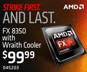 AMD FX-8350 - $99.99