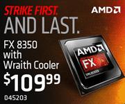 AMD FX-8350 - $109.99