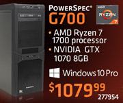 PowerSpec G700 - $1079.99