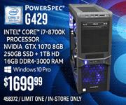 PowerSpec G429 - $1699.99