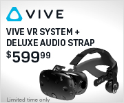 Deluxe Audio Strap with Vive purchase