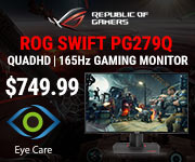 ASUS ROG Swift PG279Q Gaming Monitor - $749.99